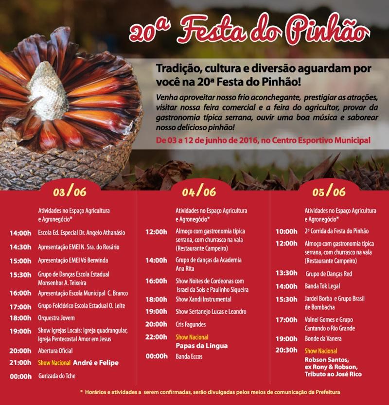 Festa do Pinhão (foto http://www.portaldafolha.com.br)
