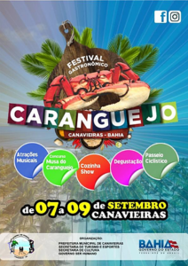 Festival Gastronômico do Caranguejo (foto https://www.costadocacau.org.br)