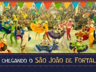 São João de Fortaleza (foto reprodução Prefeitura de Fortaleza)