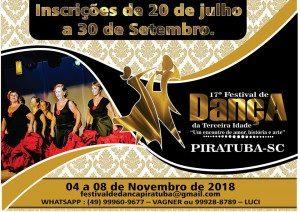 Festival de Dança da Tercera Idade Piratuba ( foto https://www.piratuba.sc.gov.br/)