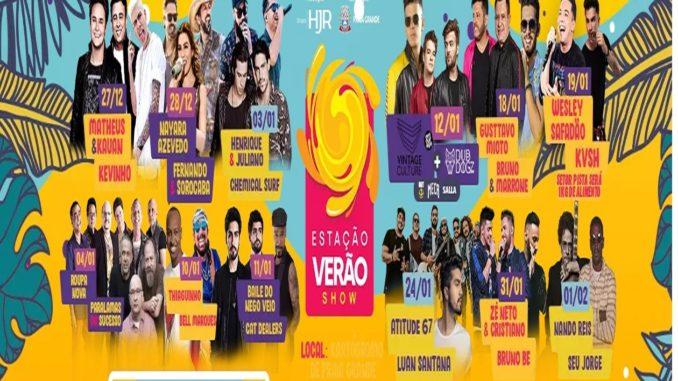 Estação Verão Show 2019