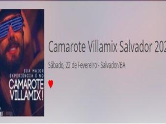 Camarote Villamix Salvador 2020