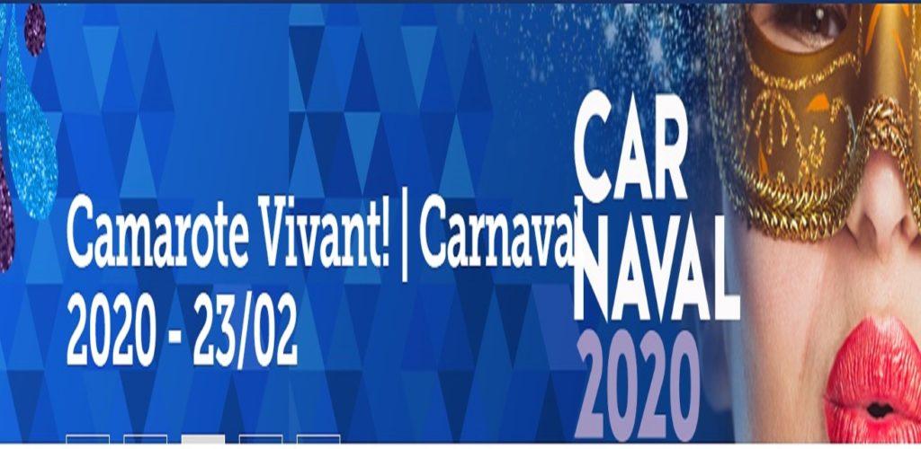 Camarote Vivant 2020 23 de fevereiro