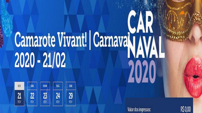Camarote Vivant 2020