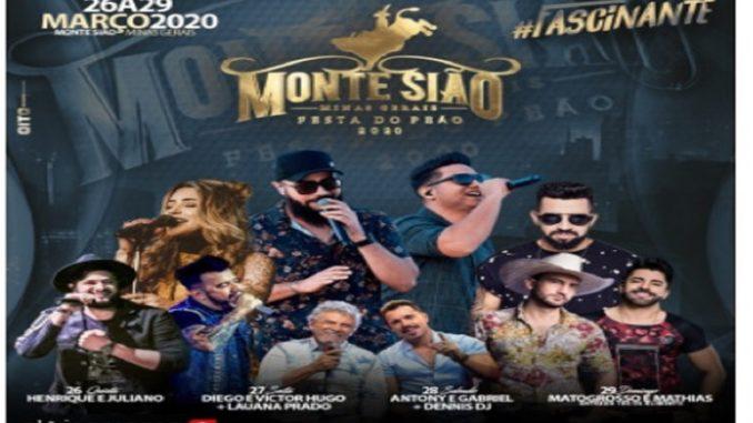 Festa do Peão Monte Sião 2020