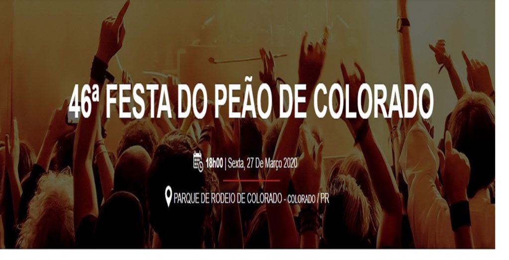 Festa do Peão de Colorado 2020