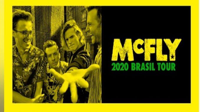 McFly 2020 Brasil Tour