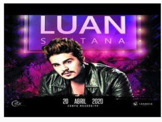 Show Luan Santana Campo Mourão 2020