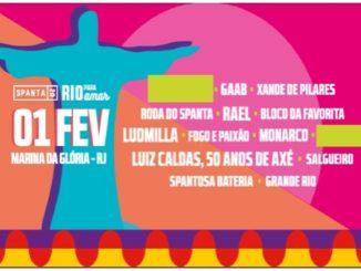 Spanta 2020 - Rio para Amar - 1º de fevereiro