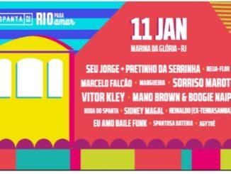 Spanta 20 Rio para Amar 11 de janeiro