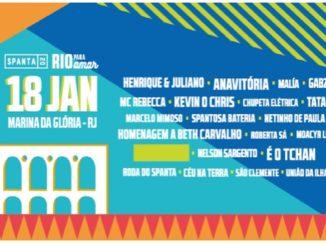 Spanta 20 Rio para Amar 18 de janeiro