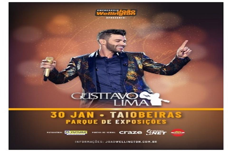 Show Gusttavo Lima Taiobeiras 2020