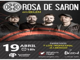 Show Rosa de Saron - Belém 2020