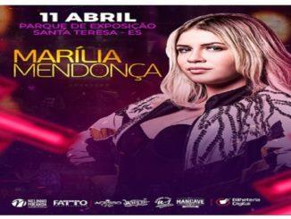 Show de Marília Mendonça - Santa Teresa - 2020