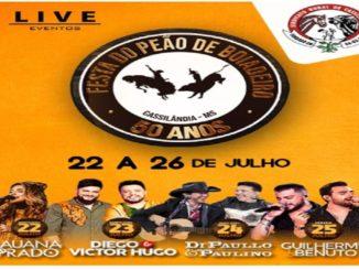 50ª Festa do Peão de Boiadeiro de Cassilândia 2020