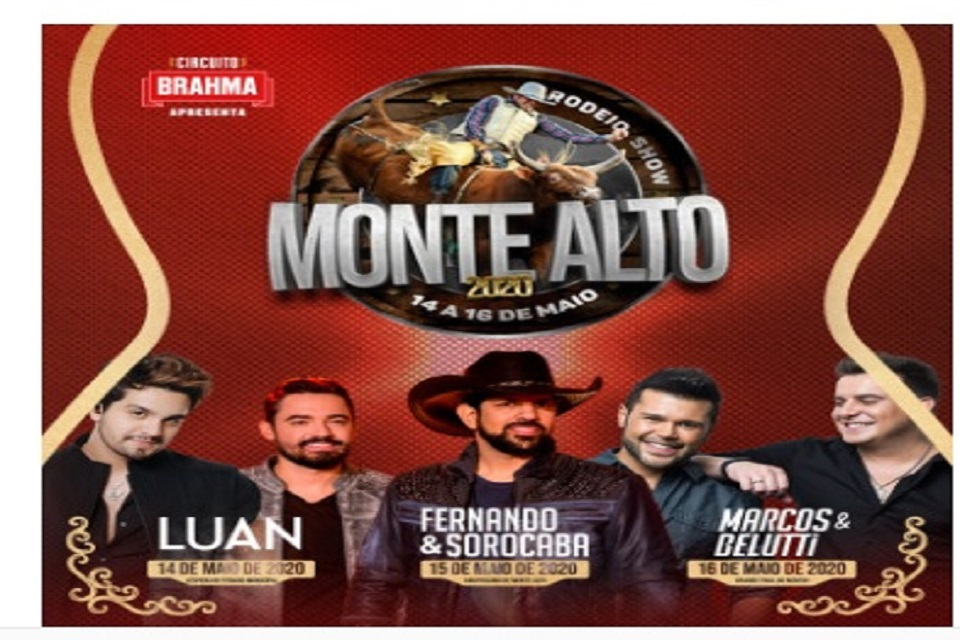 Monte Alto Rodeio Show 2020