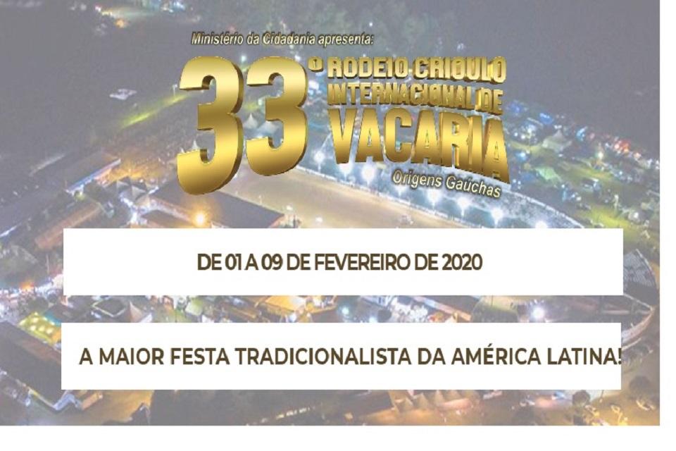 Rodeio Crioulo Internacional de Vacaria 2020