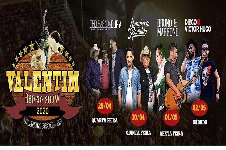 Valentim Rodeio Show 2020