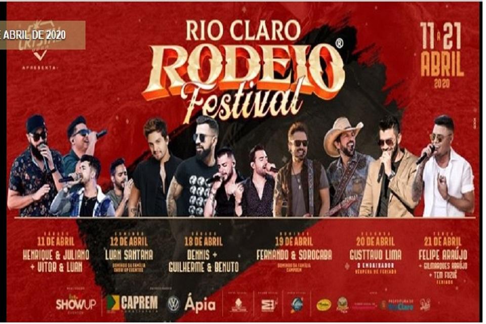 Rio Claro Rodeio Festival 2020