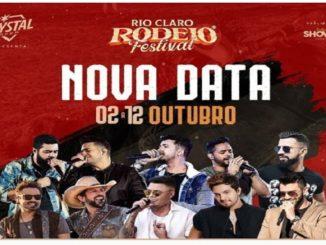 Rio Claro Rodeo Show 2020 - data alterada