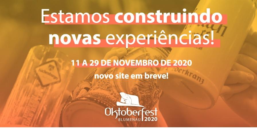 Oktoberfest Blumenau 2020 adiada