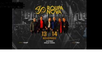 Show de Roupa Nova 2020 em Porto Alegre