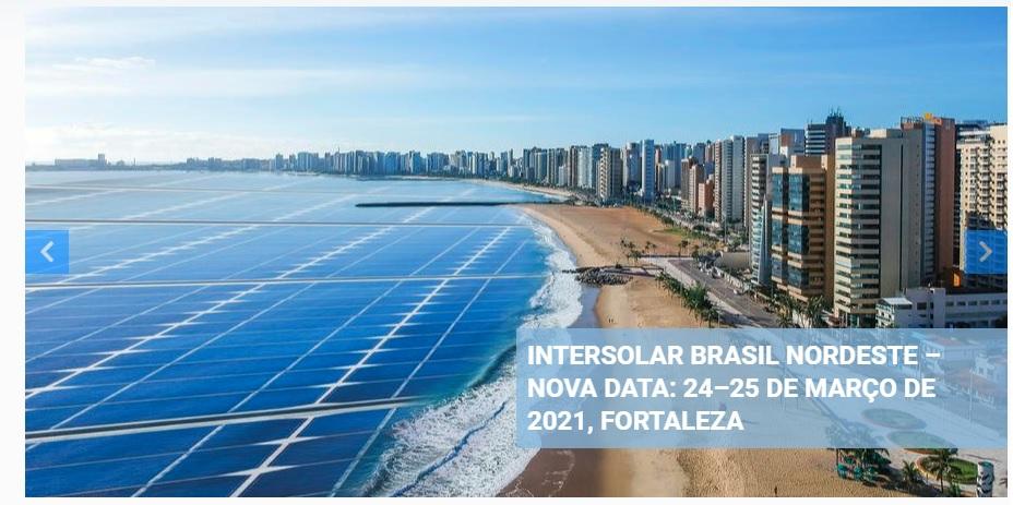 Intersolar Summit Brasil Nordeste 2021
