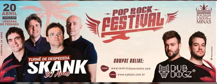 Pop Rock Festival com Skank + Dubdog