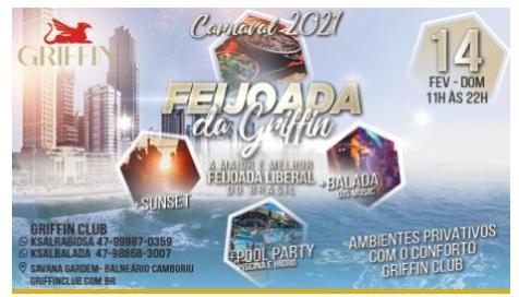 Feijoada da Griffin - Carnaval 2021