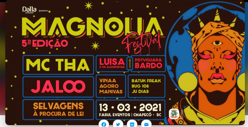 Magnólia Festival 2021