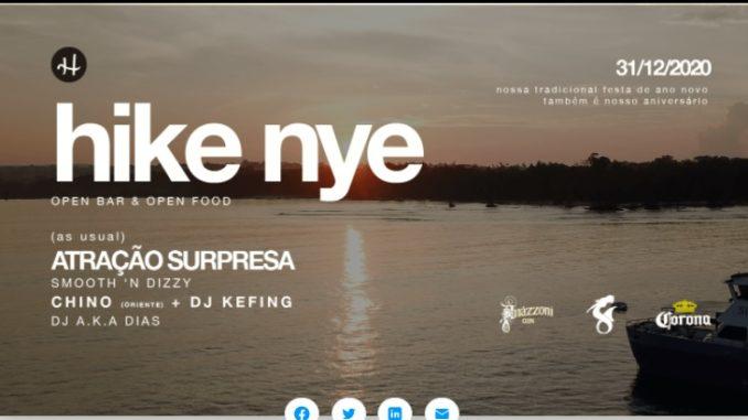 NYE 2020/21 - Festa de Ano Novo