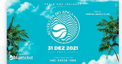 Ingressos disponíveis para o Réveillon do Zinga 2021
